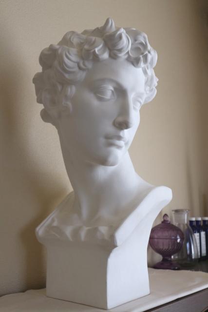 クロッキー-デッサン用石膏像