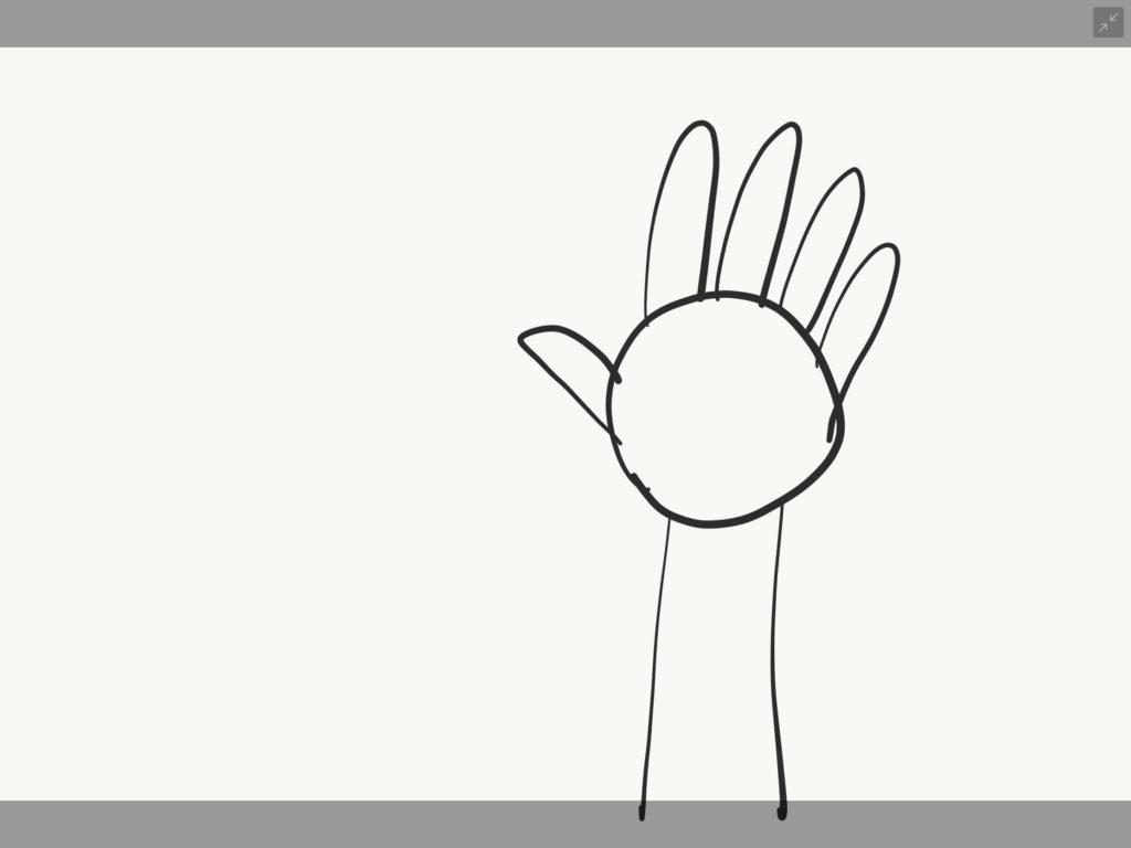 手の書き方1