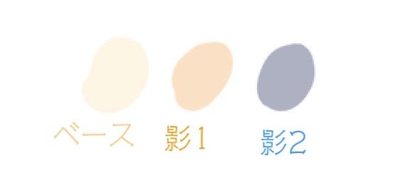 アイビスペイント-厚塗り-肌1