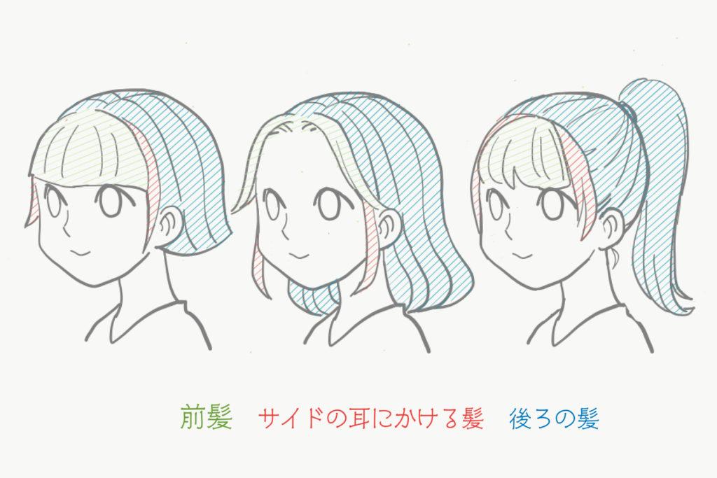 アイビスペイント-厚塗り-髪2