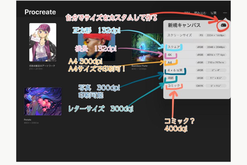ProCreate使い方4